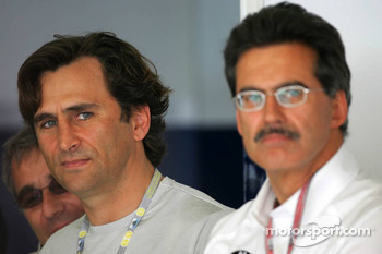 Alex Zanardi and Dr Mario Theissen