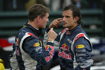 David Coulthard and Vitantonio Liuzzi