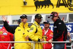 Drivers presentation: Tiago Monteiro, Narain Karthikeyan and Christijan Albers