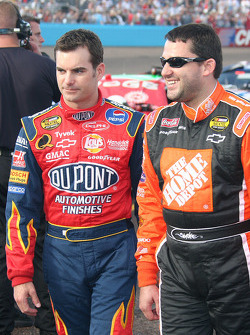 NASCAR-CUP: Jeff Gordon and Tony Stewart