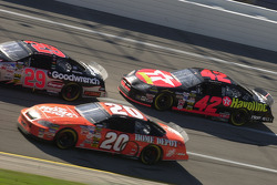 Kevin Harvick, Tony Stewart and Jamie McMurray
