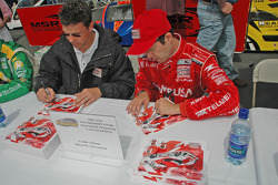 Scott Pruett and Luis Diaz