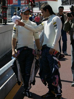 Christian Klien and Vitantonio Liuzzi