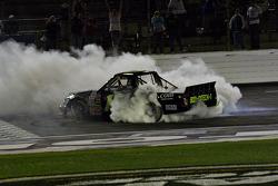Kyle Busch victory burnout