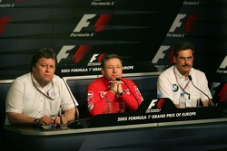 FIA Friday press conference: Norbert Haug, Jean Todt and Dr Mario Theissen