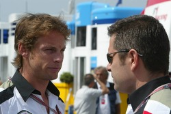 Jenson Button and Gil de Ferran
