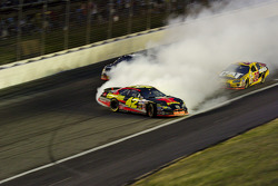 Jamie McMurray spins