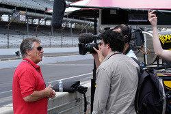 Marcos Andretti's grandfather is interviewed