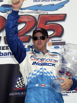 Race winner Paul Tracy