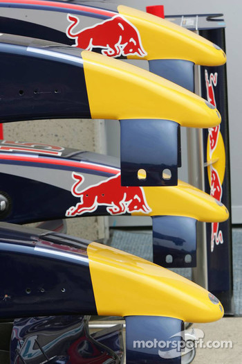 Red Bull Racing nose cones
