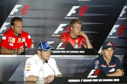 Thursday FIA press conference: Jacques Villeneuve, Christian Klien, Rubens Barrichello and Kimi Raikkonen