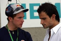Scott Speed and Vitantonio Liuzzi
