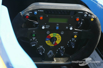 Cockpit of the Renault