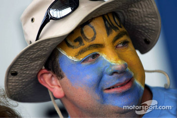 A fan of Fernando Alonso