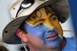 A fan of Fernando Alonso