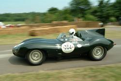 #69 1956 Jaguar D-Type 'Long Nose', class 5: Stuart Dyble