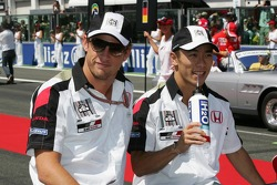 Drivers presentation: Jenson Button and Takuma Sato