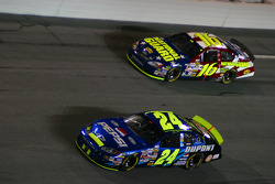 Jeff Gordon and Greg Biffle