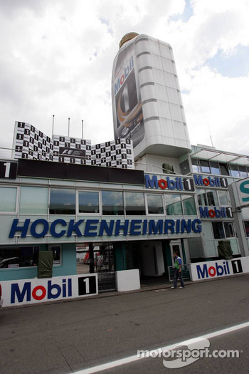 Mobil tower at Hockenheim