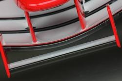 Detail of the Ferrari