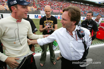 Robert Doornbos and Christian Horner