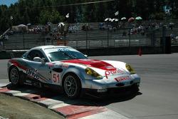 #51 Panoz Motor Sports Panoz Esperante GTLM: Marino Franchitti, Christophe Tinseau