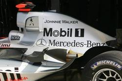 Johnnie Walker sponsorship on the McLaren