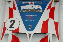 MDA Logo on No 2 Citgo Car Hood