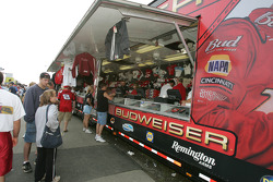 Bud Chevy merchandising area