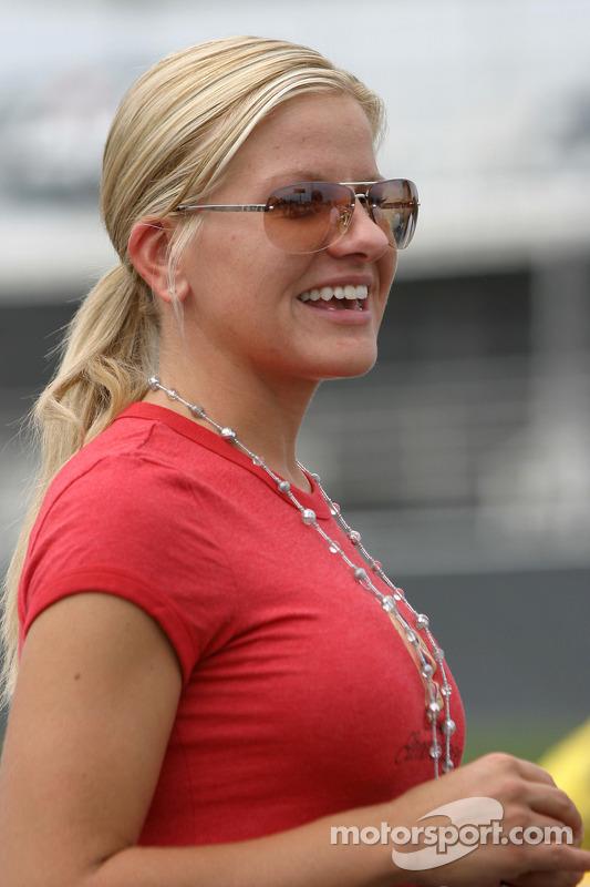Girlfriend Of Kurt Busch Eva Bryan At Watkins Glen