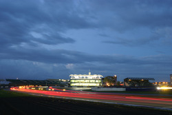 Silverstone at night