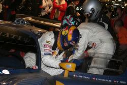#15 JMB Racing Maserati MC-12 GT1: Andrea Bertolini, Karl Wenlinger, Philipp Peter