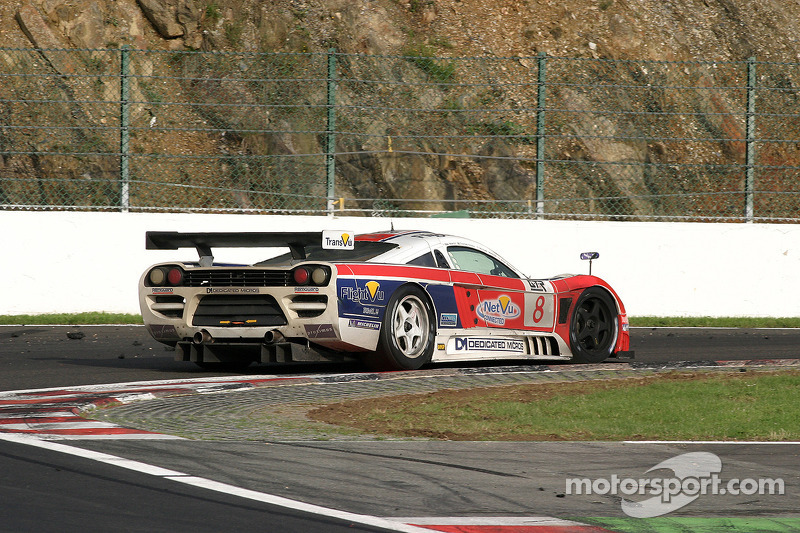 #8 Graham Nash Motorsport Saleen S7R: Michael Mallock, Mike Newton, Thomas Erdos, Phil Bennett
