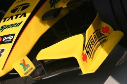 Front wing of the Jordan