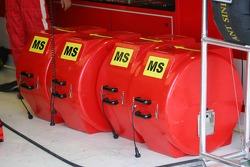 Ferrari tire warmers