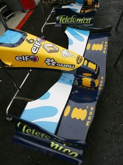 Renault F1 nose cones