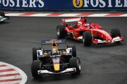 Christian Klien and Rubens Barrichello