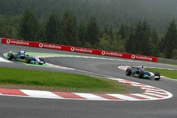 Felipe Massa and Jacques Villeneuve