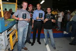 First place team: Robin Liddell, Bill Auberlen, Scott Atherton and Bryan Sellers