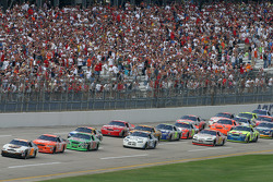 Dale Jarrett leads the field