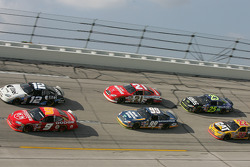 Kasey Kahne, Ryan Newman, Carl Edwards, Ricky Rudd, Brian Vickers and Scott Wimmer