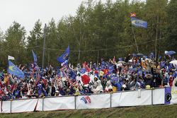 Fans at Rally Japan