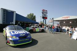 Hendrick Motorsports display