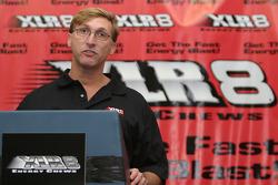 XLR8 press conference