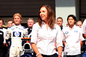 Williams-BMW photoshoot