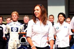 Williams-BMW photoshoot