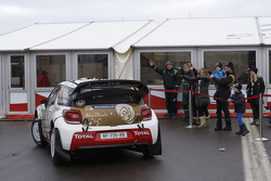 Mads Ostberg and Jonas Andersson, Citroen DS3 WRC, Citroen Total Abu Dhabi World Rally Team