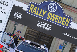 Second place Thierry Neuville and Nicolas Gilsoul, Hyundai i20 WRC, Hyundai Motorsport