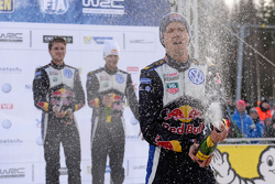 First place Sebastien Ogier, Volkswagen Motorsport