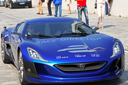 The all-electric Rimac Automobili hypercar